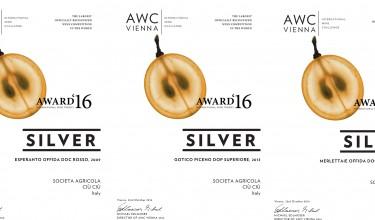 Three medals for Ciù Ciù wines at AWC Wien 2016