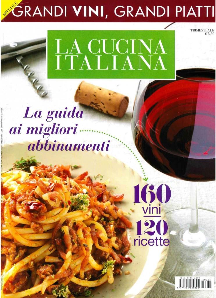 La Cucina Italiana – Speciale Grandi Vini, Grandi Piatti