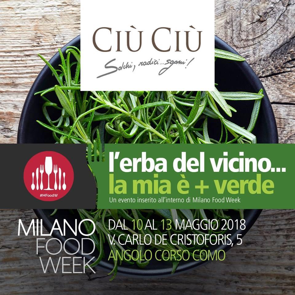 I vini Ciù Ciù alla Milano Food Week
