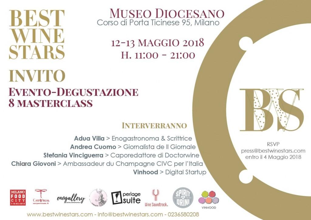 Best Wine Stars – Milano – 12/13 Maggio