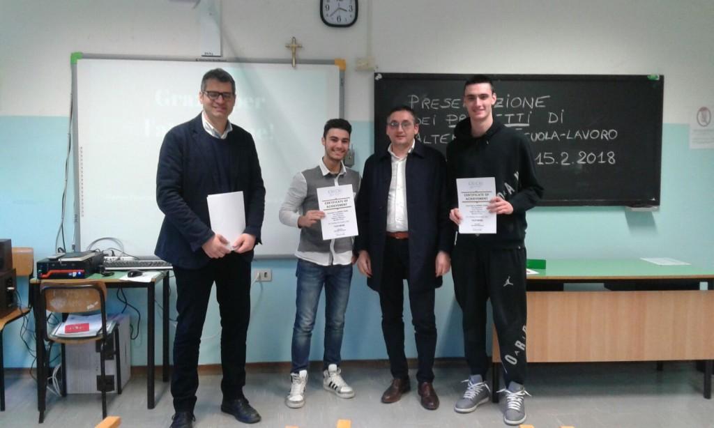 Ciù Ciù al Liceo Scientifico di Ascoli Piceno per l'Alternanza Scuola-Lavoro