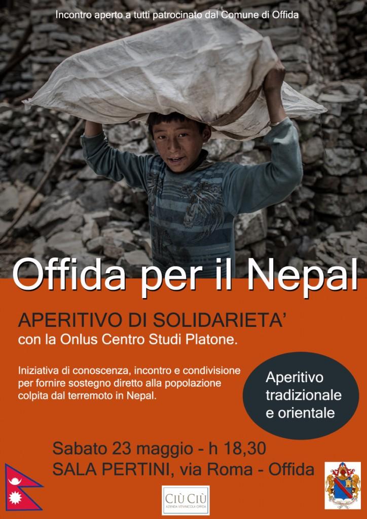 Ciù Ciù protagonista dell'aperitivo di Beneficenza in favore del Nepal