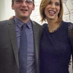Walter Bartolomei con Veronica Maya