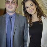 Walter Bartolomei con GiorgiaSurina