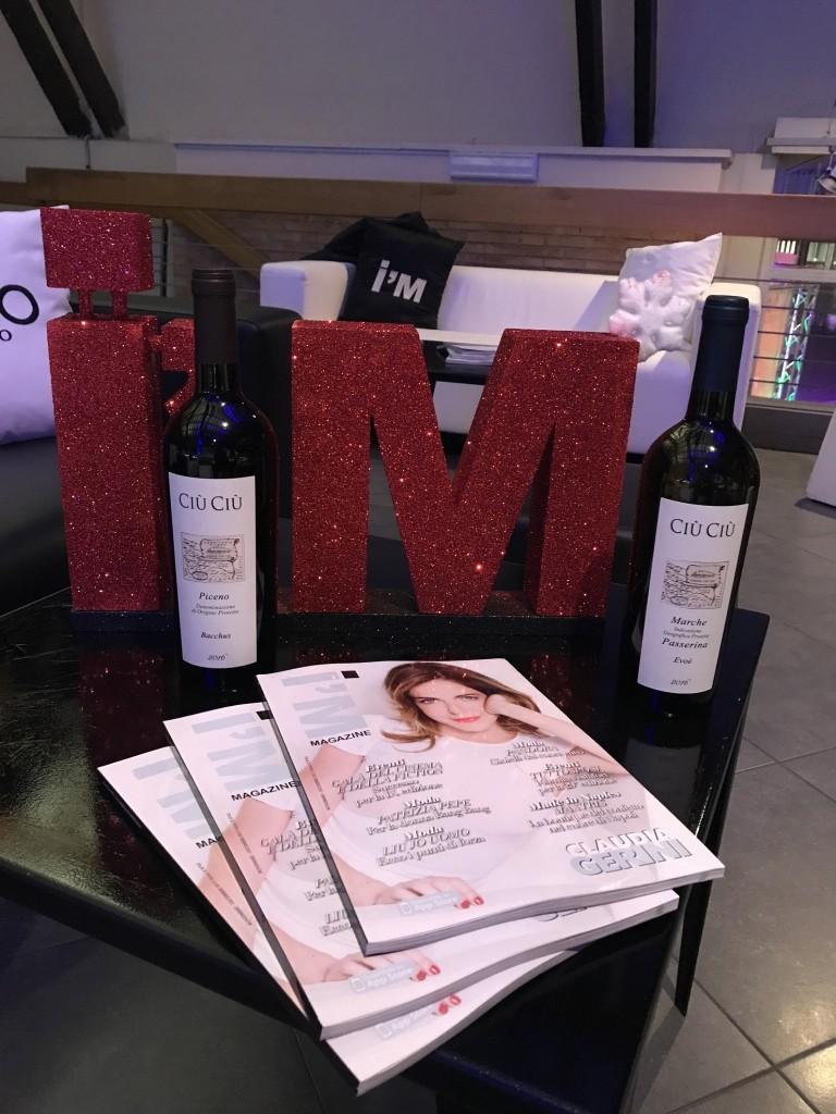 I'm Magazine brinda con Ciù Ciù. La serata organizzata dall'attore Maurizio Aiello