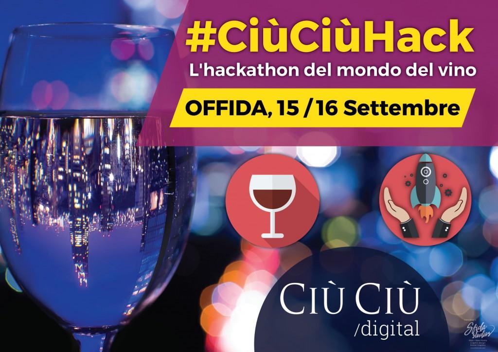 #CiùCiùHack, l'hackathon del mondo del vino