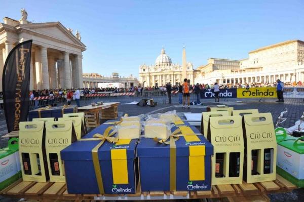 Ciù Ciù Sponsor alla Corsa dei Santi di Roma