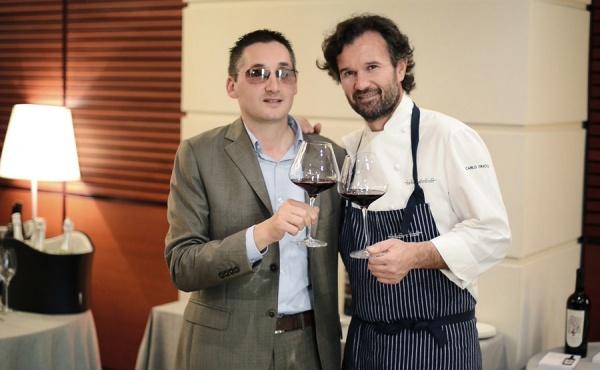 I vini Ciù Ciù presentati a Milano al Ristorante di Carlo Cracco