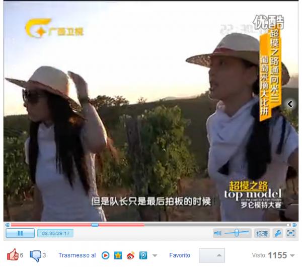 """In onda la puntata del reality cinese """"Dream come Top Model"""""""