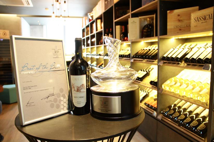 Tower Club Wine Awards 2015 di Singapore: trionfo per il San Carro